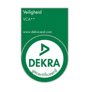 Gecertificeerd Dekra VCA
